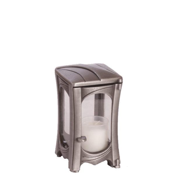 Aluminiumslykt 167.2 til gravstein