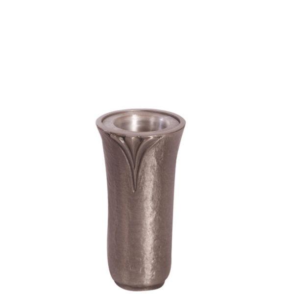 Aluminiumsvase T 4341 til gravstein