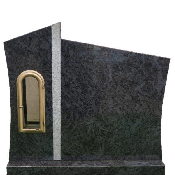 Gravstein Agri i orion blå granitt