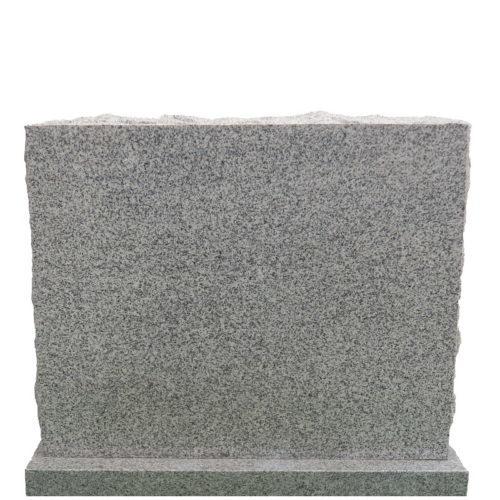 Gravstein Amabilia i lys grå granitt fra Gravstein Grossisten
