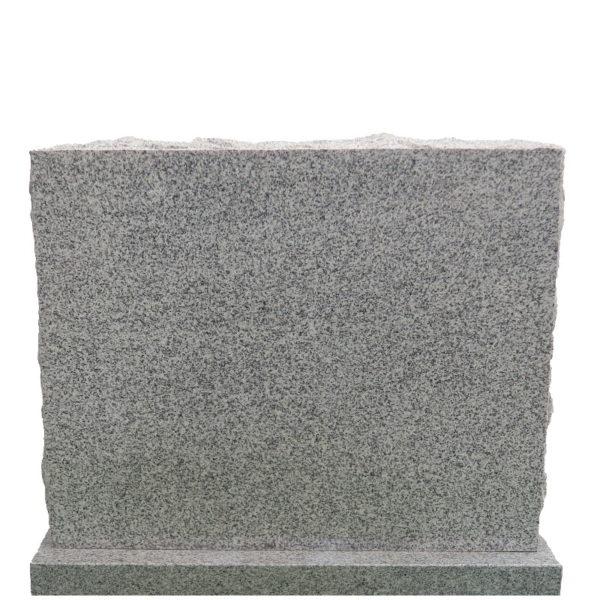 Gravstein Amabilia i lys grå granitt