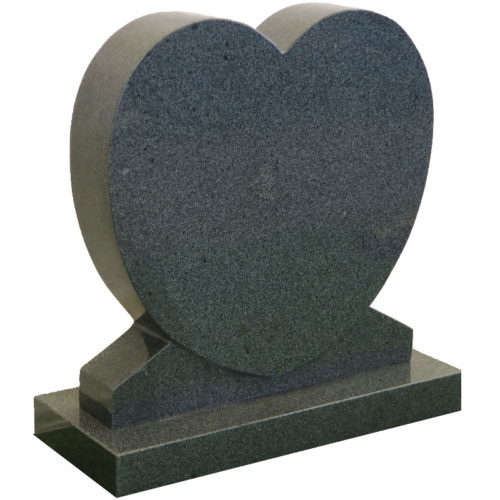 Gravstein Cor mørk grå granitt fra Gravstein Grossisten