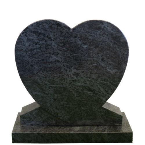 Gravstein Cor i orion blå granitt fra Gravstein Grossisten