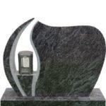 Gravstein Ignis i orion blå granitt fra Gravstein Grossisten