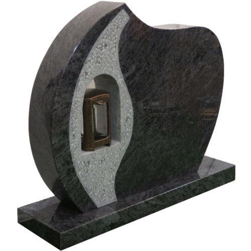Gravstein Lucerna i orion granitt fra Gravstein Grossisten