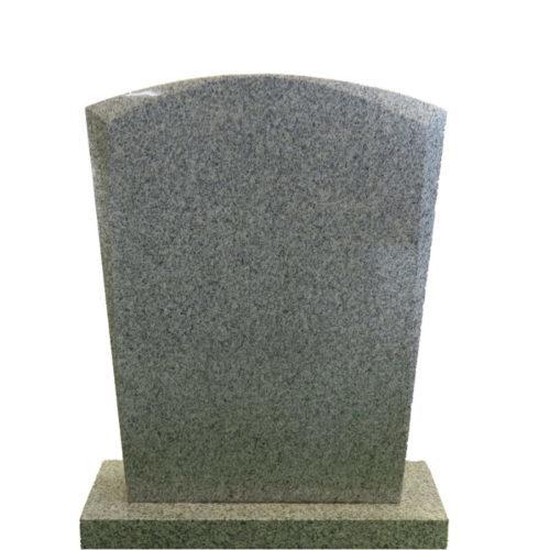 Gravstein Micat i lys grå granitt gra Gravstein Grossisten