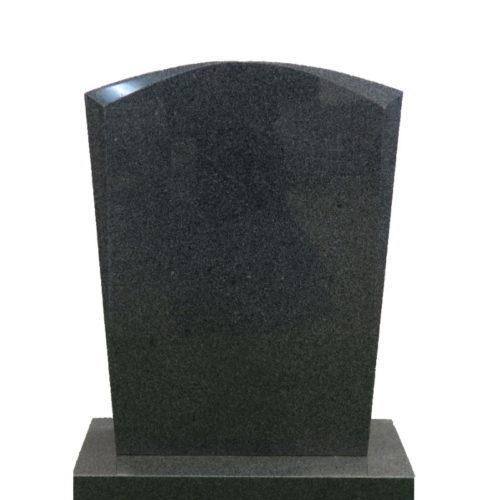 Gravstein Micat i mørk grå granitt fra Gravstein Grossisten