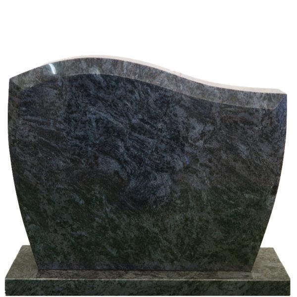 Gravstein Pacem i orion blå granitt front uten skrift