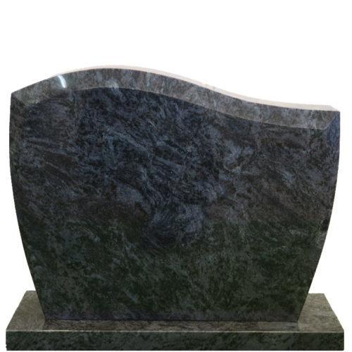 Gravstein Pacem i orion blå granitt fra Gravstein Grossisten