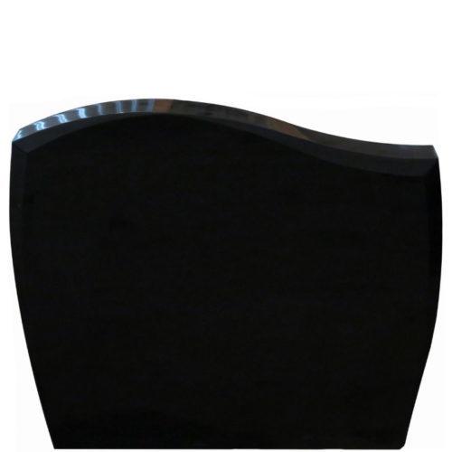Gravstein Pacem i sort granitt fra Gravstein Grossisten