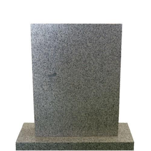 Gravstein Parva lys grå granitt fra Gravstein Grossisten