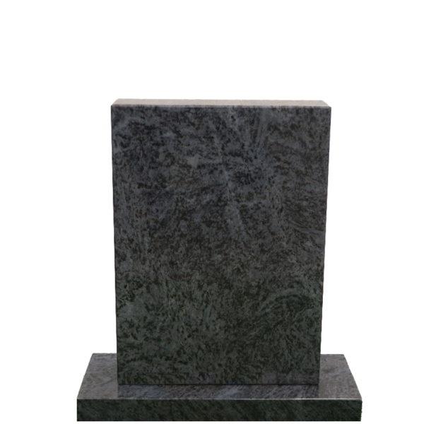 Gravstein Parva i orion blå granitt front