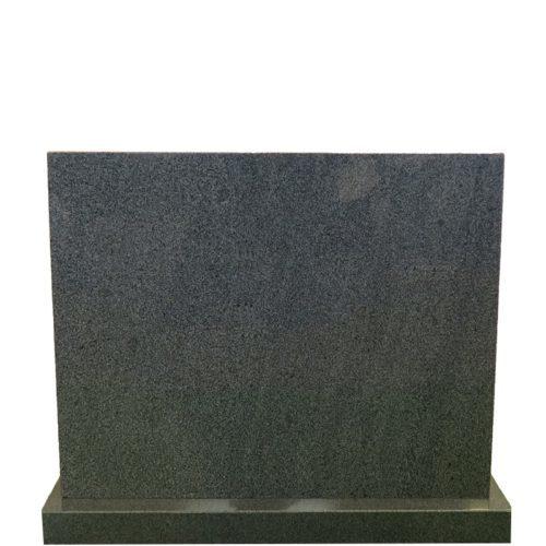Gravstein Rectus mørk grå fra Gravstein Grossisten