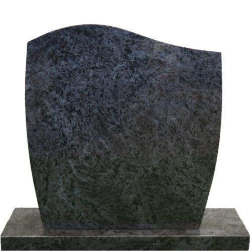Gravstein Facilius i orion blå granitt fra Gravstein Grossisten