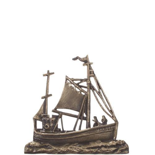 Gravstein tilbehør båt 2310A i bronse fra Gravstein Grossisten
