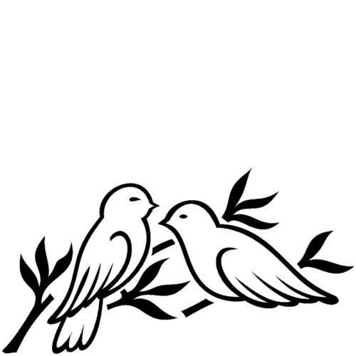 Graverte fugler til gravsten fra Gravstein Grossisten