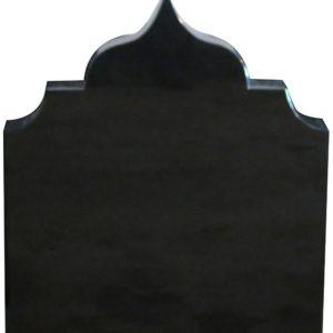 Gravstein Torrim i sort granitt fra gravstein grossisten