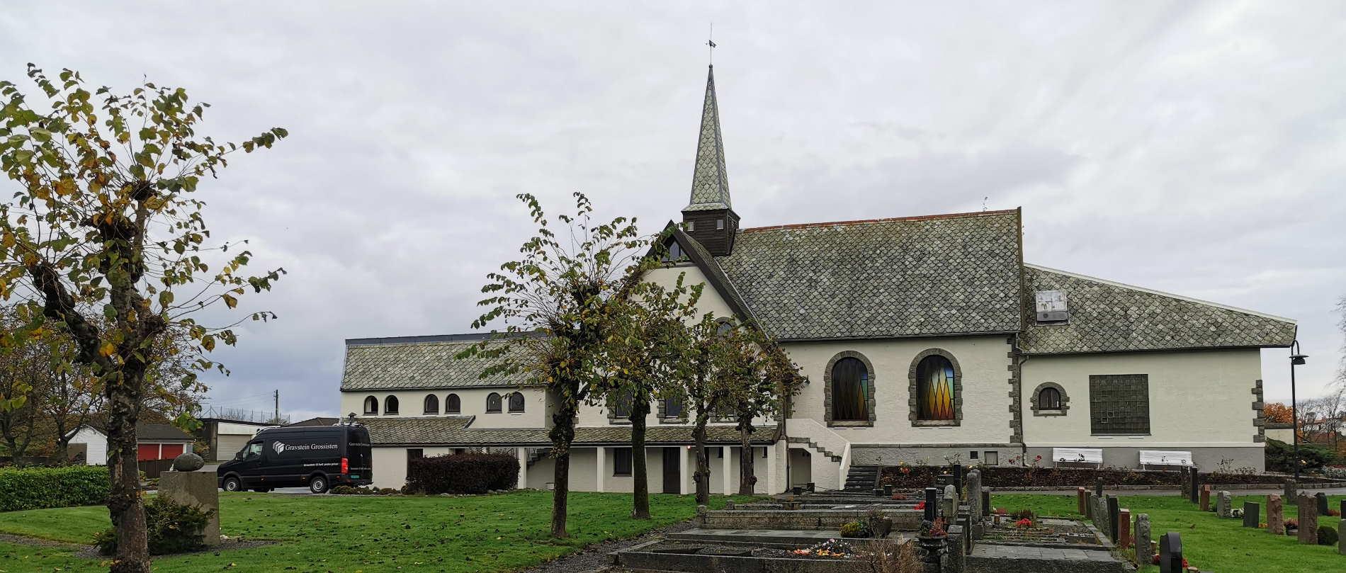 Gravstein Grossisten Vår Frelsers Kirke i Haugesund