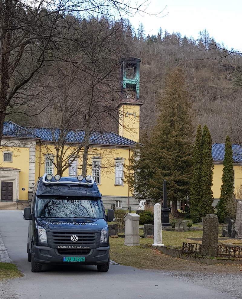 Gravstein Grossisten Bragernes Kirkegård i Drammen