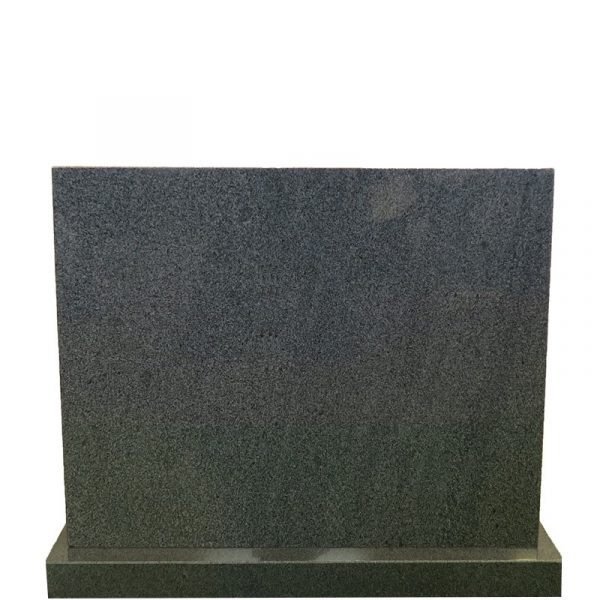 Gravstein Rectus i mørk grå