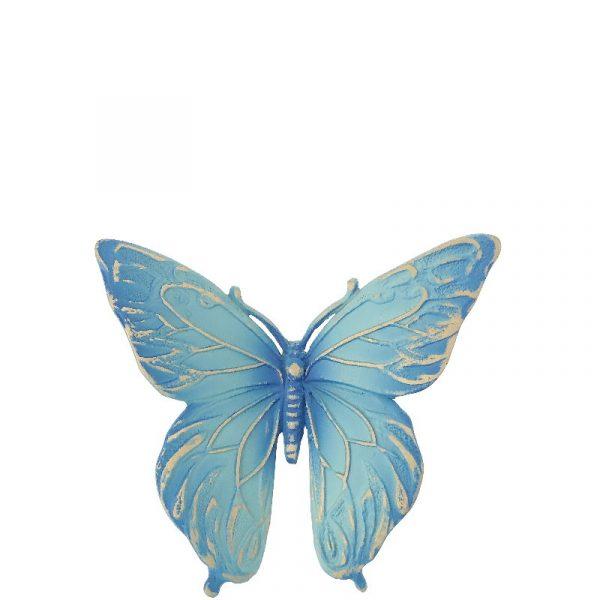 Sommerfugl blå fra Gravstein Grossisten